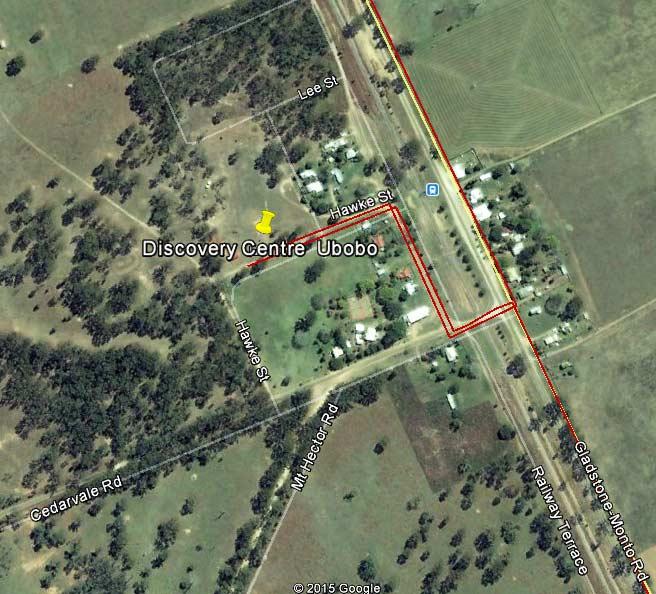 Route Detail through Ubobo